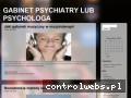 Screenshot strony psychiatra.miasta.pl