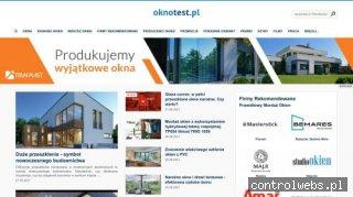 OKNOTEST.PL - Okna PCV, rolety okienne, nawiewniki, montaż