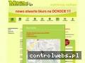 Screenshot strony www.oskmonza.pl