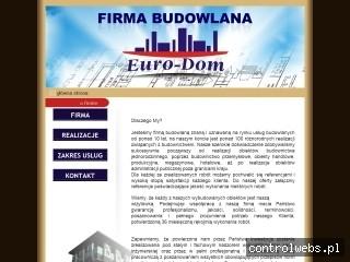 Euro-Dom - Profesjonalne usługi budowlane