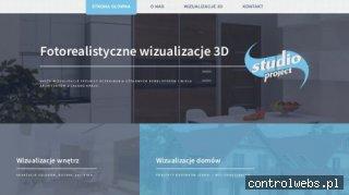 Wizualizacje 3D, wizualizacje wnętrz, strony internetowe