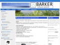 Screenshot strony www.barker.pl