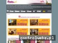 Screenshot strony www.flats.pl