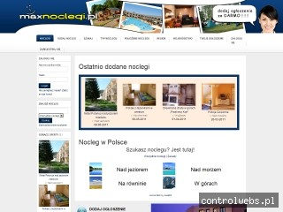 Dodaj za darmo swój nocleg na maxnoclegi.pl