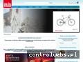 Screenshot strony www.rowerowy.biz