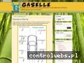 Screenshot strony gaselle2.blogspot.com