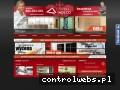 Screenshot strony www.galeriaindeco.pl