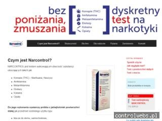Test narkotykowy NARCONTROL