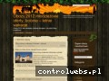 Screenshot strony www.obozywakacje.pl