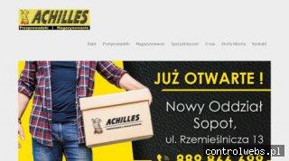 Achilles - przeprowadzki firm, przeprowadzki Międzynarodowe