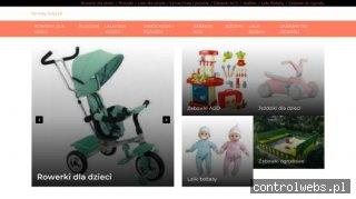 Zabawki i ubranka dla dzieci.