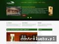 Screenshot strony log-house.com.pl