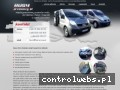 Screenshot strony www.busy-przewozy.pl