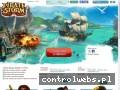 Screenshot strony www.piratestorm.pl