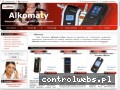 Screenshot strony www.alkomaty-sklep.pl