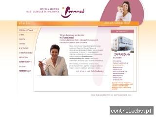 Formmed - chirurg dziecięcy, ortopeda, logopeda, ortodonta