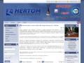 Screenshot strony www.hertom.pl