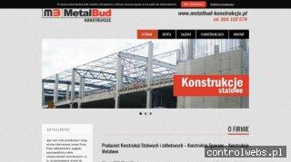 Konstrukcje spawane - MM MetalBud
