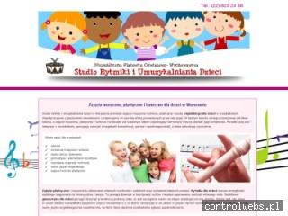 STUDIORYTMIKI zajęcia plastyczne dla dzieci