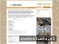 Screenshot strony www.konstrukcjedrewniane-mar-bud.pl