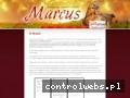 Screenshot strony www.pphu-marcus.pl