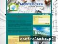 Screenshot strony www.instalacjemontertech.pl