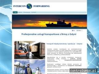 Intercon Forwarding sp.j. spedycja morska