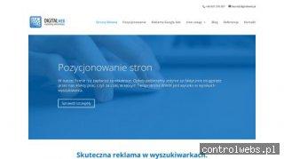 Digital Web - pozycjonowanie stron internetowych