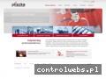 Screenshot strony www.pliszka.pl