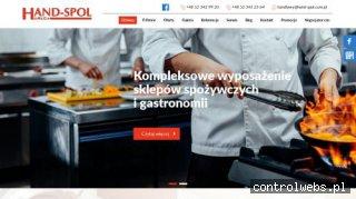 """Wyposażenie sklepów spożywczych - """"HAND-SPOL"""" HoReCa"""