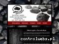 Screenshot strony www.wegielancygier.pl