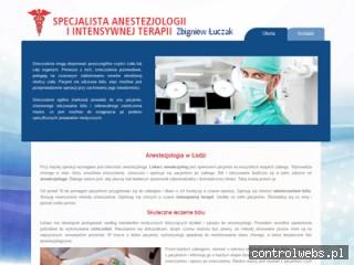 ZBIGNIEW ŁUCZAK Lekarz anestezjolog