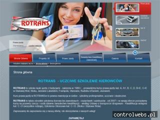 ROTRANS- kurs prawa jazdy
