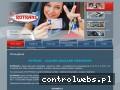 Screenshot strony rotrans.com.pl