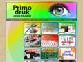 Screenshot strony www.primodruk.pl