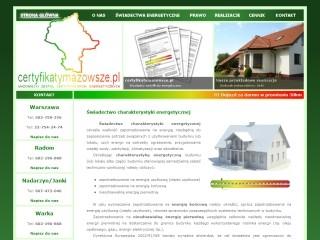 Certyfikaty energetyczne Warszawa