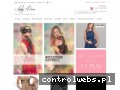 Screenshot strony ladydress.pl