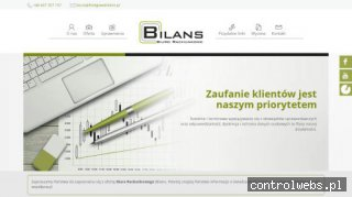 BILANS- wiedza podatkowa