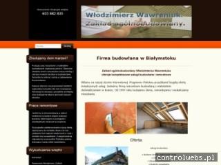 ZAKŁAD OGÓLNOBUDOWLANY budowa domów