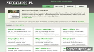 NetCatalog - Autorski katalog stron