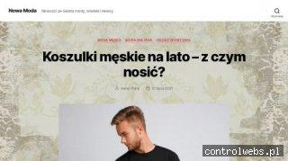 New moda czyli blog o modzie