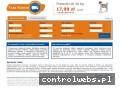 Screenshot strony www.tanikurieronline.pl