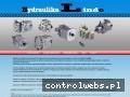 Screenshot strony hydraulika-linde.pl