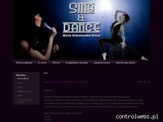 projekt wokalno-taneczny Singandance