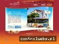 Screenshot strony www.hotelbartan.pl