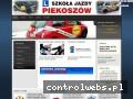 Screenshot strony szkolapiekoszow.pl