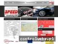 Screenshot strony www.speedgps.pl