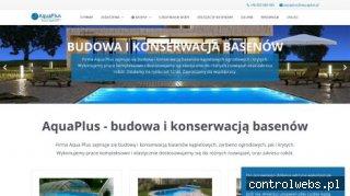 AquaPlus – montaż basenów Warszawa