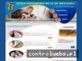 Screenshot strony www.sp23wroc.pl
