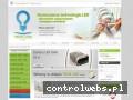 Screenshot strony www.tech-led.pl